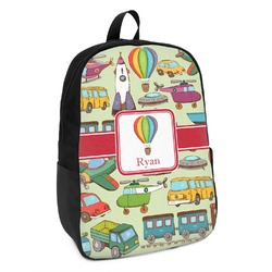 Vintage Transportation Kids Backpack (Personalized)
