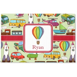 Vintage Transportation Woven Mat (Personalized)