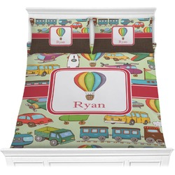 Vintage Transportation Comforter Set (Personalized)