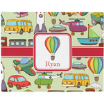 Vintage Transportation Placemat (Fabric) (Personalized)