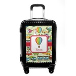 Vintage Transportation Carry On Hard Shell Suitcase (Personalized)