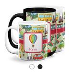 Vintage Transportation Coffee Mugs (Personalized)