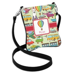 Vintage Transportation Cross Body Bag - 2 Sizes (Personalized)