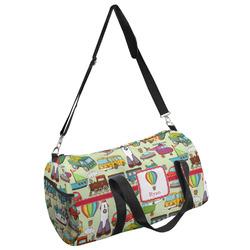 Vintage Transportation Duffel Bag (Personalized)