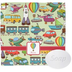Vintage Transportation Wash Cloth (Personalized)