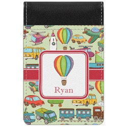 Vintage Transportation Genuine Leather Small Memo Pad (Personalized)