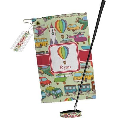 Vintage Transportation Golf Towel Gift Set (Personalized)