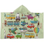 Vintage Transportation Kids Hooded Towel (Personalized)