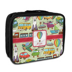 Vintage Transportation Insulated Lunch Bag (Personalized)