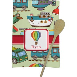 Vintage Transportation Kitchen Towel - Full Print (Personalized)