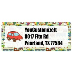 Vintage Transportation Return Address Label (Personalized)