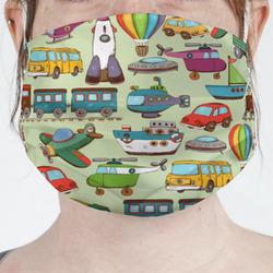 Vintage Transportation Face Mask Cover (Personalized)