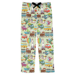 Vintage Transportation Mens Pajama Pants (Personalized)
