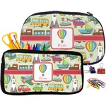 Vintage Transportation Pencil / School Supplies Bag (Personalized)