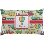 Vintage Transportation Pillow Case - Toddler (Personalized)