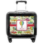 Vintage Transportation Pilot / Flight Suitcase (Personalized)