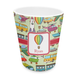 Vintage Transportation Plastic Tumbler 6oz (Personalized)