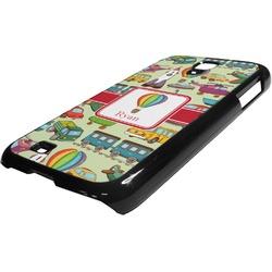 Vintage Transportation Plastic Samsung Galaxy 4 Phone Case (Personalized)
