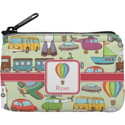 Vintage Transportation Rectangular Coin Purse (Personalized)