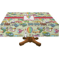 Vintage Transportation Tablecloth (Personalized)