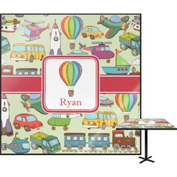 Vintage Transportation Square Table Top (Personalized)