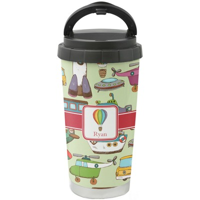 Vintage Transportation Stainless Steel Coffee Tumbler (Personalized)