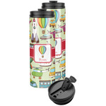 Vintage Transportation Stainless Steel Skinny Tumbler (Personalized)
