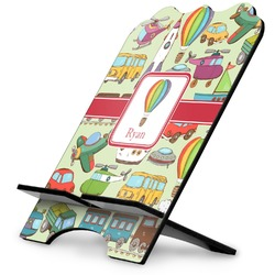 Vintage Transportation Stylized Tablet Stand (Personalized)