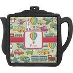 Vintage Transportation Teapot Trivet (Personalized)