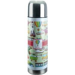 Vintage Transportation Stainless Steel Thermos (Personalized)