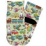 Vintage Transportation Toddler Ankle Socks (Personalized)