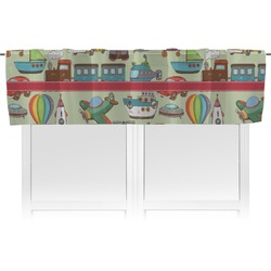 Vintage Transportation Valance (Personalized)