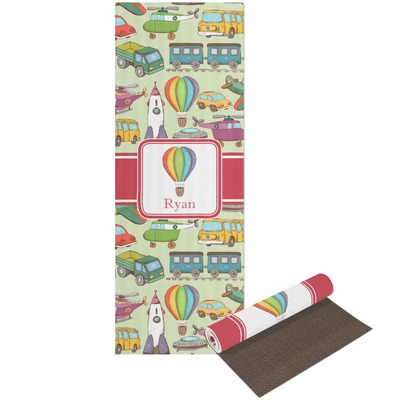 Vintage Transportation Yoga Mat - Printable Front and Back (Personalized)