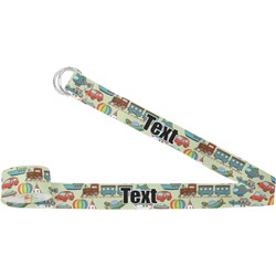 Vintage Transportation Yoga Strap (Personalized)