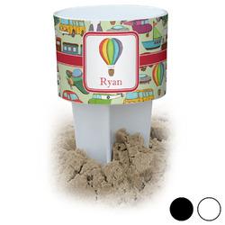 Vintage Transportation Beach Spiker Drink Holder (Personalized)