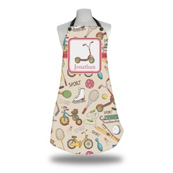 Vintage Sports Apron (Personalized)
