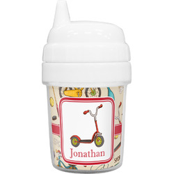Vintage Sports Baby Sippy Cup (Personalized)