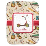 Vintage Sports Baby Swaddling Blanket (Personalized)
