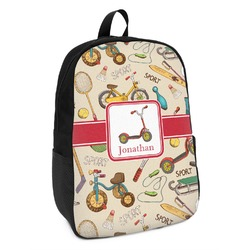 Vintage Sports Kids Backpack (Personalized)