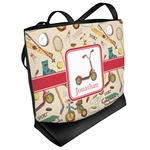 Vintage Sports Beach Tote Bag (Personalized)