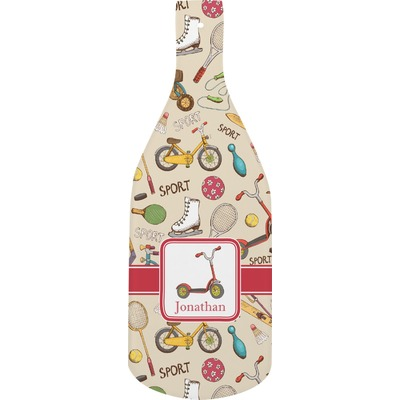 Vintage Sports Bottle Shaped Cutting Board (Personalized)