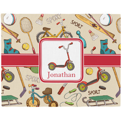 Vintage Sports Placemat (Fabric) (Personalized)