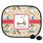 Vintage Sports Car Side Window Sun Shade (Personalized)