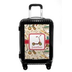 Vintage Sports Carry On Hard Shell Suitcase (Personalized)