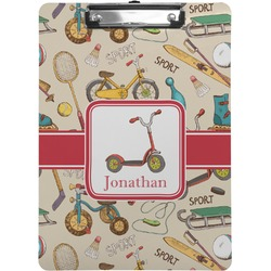 Vintage Sports Clipboard (Personalized)