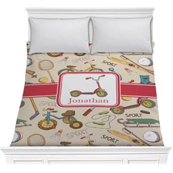 Vintage Sports Comforter (Personalized)