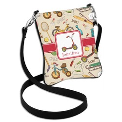 Vintage Sports Cross Body Bag - 2 Sizes (Personalized)