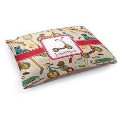 Vintage Sports Dog Pillow Bed (Personalized)
