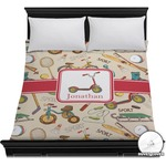 Vintage Sports Duvet Cover (Personalized)