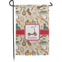 Vintage Sports Garden Flag - Single or Double Sided (Personalized)